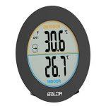 Sharplace Thermomètre Numérique D'affichage Hygromètre Horloge Compteur Température Décoration de la marque Sharplace image 3 produit