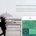 Sigma Capteur Casa Smart Weather–Météo actuelle de données température, humidité de l'air et la pression d'air, transmission par Smart Home Maison de automatisation sur Smartphone ou tablette via Bluetooth de la marque Sigma image 6 produit