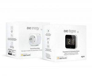 Smart Home Pack Entretien de l'air intérieur: Eve Degree (Station Météo) et Eve Energy (capteur de consommation et Interrupteur sans Fil) de la marque image 0 produit