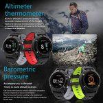 SMART Watch, montre de sport avec altimètre/baromètre/thermomètre et GPS intégré, fitness tracker pour la course à pied, la randonnée et l'escalade, IP67étanche moniteur de fréquence cardiaque pour hommes, femmes et aventuriers. de la marque DTNO.I image 3 produit