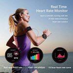 SMART Watch, montre de sport avec altimètre/baromètre/thermomètre et GPS intégré, fitness tracker pour la course à pied, la randonnée et l'escalade, IP67étanche moniteur de fréquence cardiaque pour hommes, femmes et aventuriers. de la marque DTNO.I image 4 produit