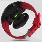 SODIAL S958 couleur LED Affichage moniteur de frequence cardiaque Moniteur de sport Smart Monitor Watch, pour iPhone X Samsung Galaxy S8/S8 + S7/S7 +/S7 bord S6/S6 +, rouge de la marque SODIAL image 4 produit