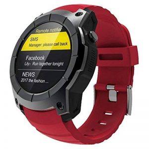 SODIAL S958 couleur LED Affichage moniteur de frequence cardiaque Moniteur de sport Smart Monitor Watch, pour iPhone X Samsung Galaxy S8/S8 + S7/S7 +/S7 bord S6/S6 +, rouge de la marque SODIAL image 0 produit