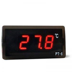 Soxid (TM) numérique LED Voiture réfrigérateur intégré Thermomètre incubateur alimentaire Termometro Acuario Température Mètre station météo de la marque Soxid image 0 produit
