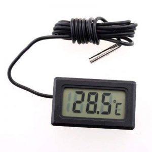 Soxid (TM) Thermomètre digital LCD Capteur de température Mètre Termometro digitale Thermomètre Estacion Metereologica station météo Meteo de la marque Soxid image 0 produit