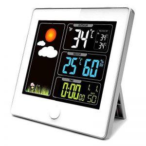 Station Météo Ecran LCD Couleur - Radiopilotée - Capteur Extérieur de la marque Fishtec ® image 0 produit