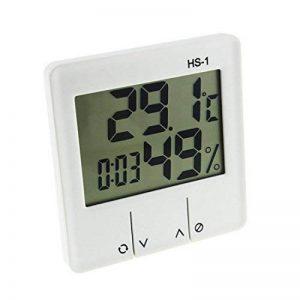 Thermomètre Hygromètre Intérieur, E2Buy® Thermomètre