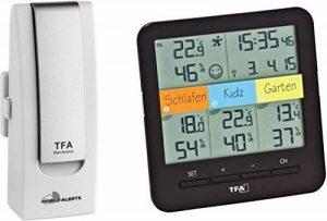 Station météorologique sans fil TFA Dostmann 31.4007.02 - Système de climatologie et surveillance domestique avec smartphone - Kit de démarrage avec thermo-hygromètre - Coloris blanc - 40 x 28 x 104 mm. de la marque TFA-Dostmann image 0 produit