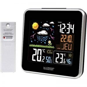 Station météo avec écran LCD couleur La Crosse Technology WS6821-A-BLA de la marque La Crosse Technology image 0 produit