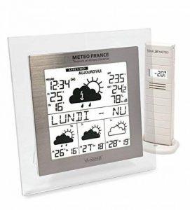 Station météo avec prévison Météo France J+3 WD9521 - Cadre transparent de la marque A&L image 0 produit