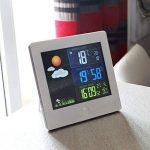 Station Météo Ecran LCD Couleur - Radiopilotée - Capteur Extérieur de la marque Fishtec ® image 3 produit