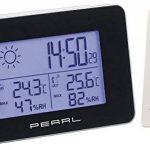 Station météo & horloge radio-pilotée avec capteur extérieur sans fil de la marque Pearl image 2 produit