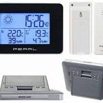 Station météo & horloge radio-pilotée avec capteur extérieur sans fil de la marque Pearl image 3 produit