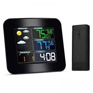 Station Météo, iLifeSmart TS-75 Hygrometre sans Fil Thermometre Humidite Intérieur Extérieur avec LCD Ecran Grand (Thermometre Humidite) de la marque iLifeSmart image 0 produit
