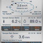 station météo pluviomètre anémomètre TOP 9 image 3 produit