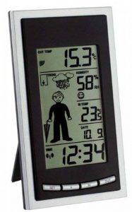 Station météo radio pilotée weatherboy blackline de la marque TFA image 0 produit