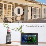 Station Météo sans fil, iLifeSmart Digital Thermomètre Hygromètre avec Capteur Intérieur/Extérieur, Thermomètre d'humiditépour Maison / Cuisine / Bureau de la marque iLifeSmart image 4 produit