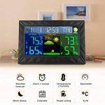 Station Météo sans fil, iLifeSmart Digital Thermomètre Hygromètre avec Capteur Intérieur/Extérieur, Thermomètre d'humiditépour Maison / Cuisine / Bureau de la marque iLifeSmart image 1 produit