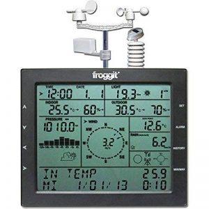 Station météo sans fil professionnelle WH4000 solaire/ UV UV/Lux, vent, pluie, évaluation PC (le classique avec la dernière version). de la marque Froggit image 0 produit