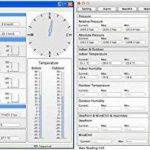 Station météo sans fil professionnelle WH4000 solaire/ UV UV/Lux, vent, pluie, évaluation PC (le classique avec la dernière version). de la marque Froggit image 3 produit