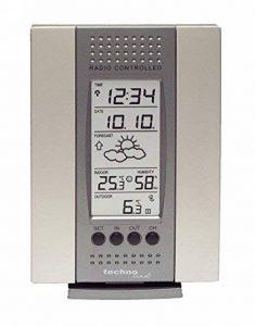 Station météo Technoline WS 7014, argent avec batteries de la marque Technoline image 0 produit