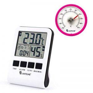 Station météo - Thermomètre hygromètre avec sonde - Affichage température intérieure et extérieure de la marque Lantelme image 0 produit