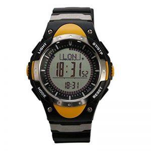 Sunroad Fr828a montre de sport avec boussole numérique Pêche Baromètre Thermomètre prévisions météo Chronomètre Alarme Homme montre de la marque SUNROAD image 0 produit