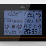 Technoline WS 6750 Station Météo avec Horloge Noir de la marque Technoline image 1 produit