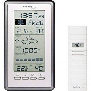 Technoline WS 9040-IT Station Météo avec Horloge Argent/Grisaille de la marque Technoline image 0 produit