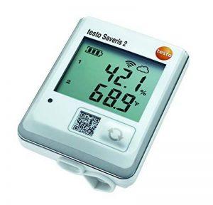 Testo Saveris 2H2, WiFi, enregistreur de données d'humidité/température avec sonde externe de la marque Testo image 0 produit