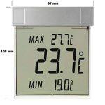 """TFA Dostmann 30.1025 """"Vision"""" / Thermomètre de fenêtre digital de la marque TFA-Dostmann image 2 produit"""
