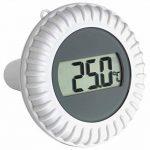 TFA Dostmann 30.3053 Malibu Thermomètre-hygromètre radio pour piscine, noir avec batteries de la marque TFA-Dostmann image 1 produit