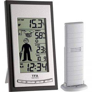 TFA Dostmann 35.1084/Station météo radio pilotée de la marque TFA-Dostmann image 0 produit
