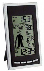 TFA Dostmann 35.1084 Station météo radio pilotée Diva Weatherboy (Noir) de la marque TFA-Dostmann image 0 produit