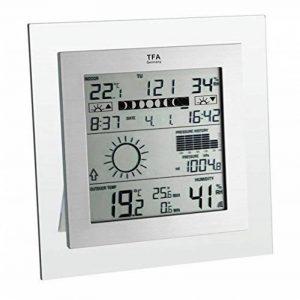 """TFA Dostmann 35.1121"""" SquarePlus/Station météo radio pilotée de la marque TFA-Dostmann image 0 produit"""