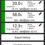 TFA-Dostmann SmartHome 31.4001.02 Moniteur de température pour centre météo sur smartphones de la marque TFA-Dostmann image 1 produit