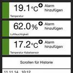 TFA-Dostmann SmartHome 31.4001.02 Moniteur de température pour centre météo sur smartphones de la marque TFA-Dostmann image 3 produit