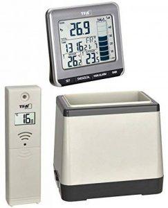 TFA Pluviomètre thermomètre sans fil Rainman TFA 47.3004 Anthrazit mit Batterien de la marque TFA-Dostmann image 0 produit