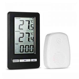 thermomètre électronique intérieur extérieur sans fil TOP 3 image 0 produit
