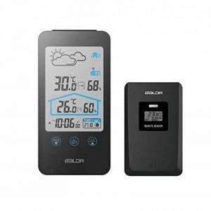 thermomètre électronique intérieur extérieur sans fil TOP 7 image 0 produit