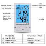 thermomètre baromètre digital TOP 11 image 1 produit