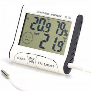 thermomètre baromètre digital TOP 14 image 0 produit