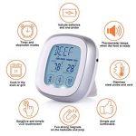 Thermomètre Cuisine et Minuteur Sonde Numérique - Ecran LCD Programmable, Longue Sonde, Alerte BIPS et Température Préréglée/Mode de Minuterie/Cuisine Parfait pour l'Alimentation, la Viande, le Gril, BBQ de la marque iHomy image 3 produit