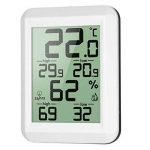 Thermomètre digital LCD hygromètre Température électronique hygromètre MIN / MAX Records intérieur extérieur Station météorologique Regard Natral de la marque Regard Natral GJ image 3 produit