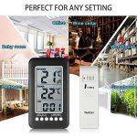 thermomètre extérieur sans fil TOP 11 image 4 produit