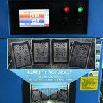 Thermomètre Hygromètre Intérieur, E2Buy® Thermomètre interieur numérique à écran LCD intérieur, Hygrothermographe numérique, moniteur de température et d'humidité avec enregistrements MIN / MAX de la marque E2Buy image 2 produit