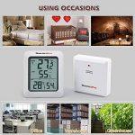 thermomètre hygromètre intérieur extérieur sans fil TOP 1 image 4 produit