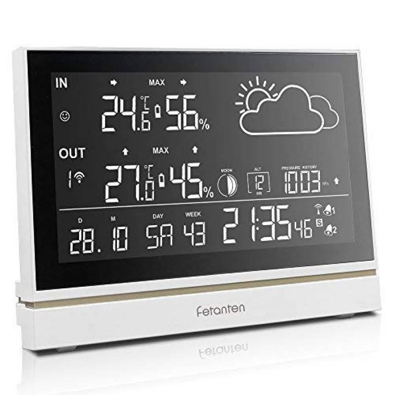 Grand Afficheur Hygromètre Sans Fil Thermomètre