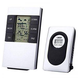 thermomètre hygromètre intérieur extérieur sans fil TOP 2 image 0 produit