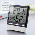 Thermomètre Hygromètre Numérique, aLLreLi Thermo-Hygromètre Electronique Intérieur LCD Digital Sans Fil, Thermomètre Chambre Bébé de la marque aLLreLi image 1 produit